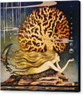 Andersen: Little Mermaid Canvas Print by Granger