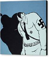 Adolf Hitler Cartoon, 1935 Canvas Print by Granger