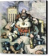 Nast: Tweed's Downfall Canvas Print by Granger