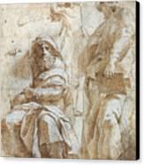 Raphael: Study, C1510 Canvas Print