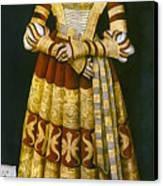 Katharina Von Mecklenburg Canvas Print by Granger