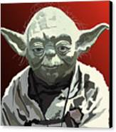 068. Do Or Do Not. There Is No Try Canvas Print by Tam Hazlewood