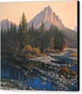 080414-4030 September Evening On Horse Thief Creek Canvas Print
