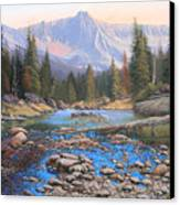 080503-4836  Late Summer Run-off Canvas Print