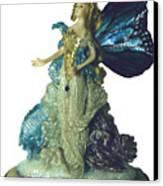 01md076-madame Butterfly Canvas Print by Shirley Heyn