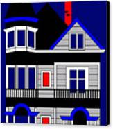 1080 Haight Street Canvas Print