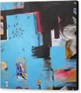 A False Painting Canvas Print