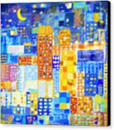 Abstract City Canvas Print