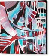 Abstract Marina Canvas Print