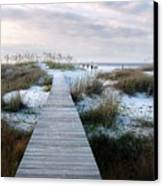 Across The Dunes Canvas Print by Julie Dant