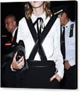Alexa Chung Wearing A 3.1 Phillip Lim Canvas Print