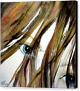 Alex's Eyes Canvas Print by Cheryl Dodd