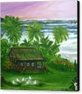 Aloha Morning Canvas Print