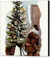 American Christmas Card Canvas Print by Granger