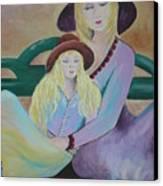 Angel Face Canvas Print