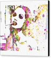 Angelina Jolie 2 Canvas Print by Naxart Studio