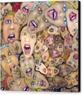 Angst Vortex Canvas Print