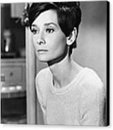 Audrey Hepburn (1929-1993) Canvas Print by Granger
