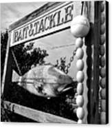 Bait And Tackle Canvas Print