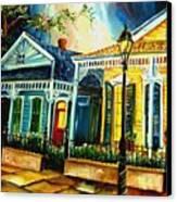 Big Easy Neighborhood Canvas Print