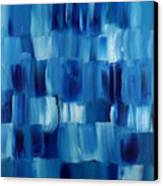 Blue Thing Canvas Print by KR Moehr
