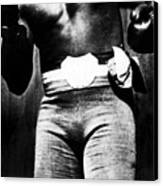 Boxer Jack Johnson, Ca. 1910s Canvas Print