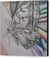 Butterfly Light Canvas Print
