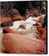Canyon Creek Ouray Colorado Canvas Print