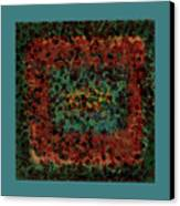 Chaos Canvas Print by Bonnie Bruno