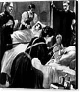 Clara Barton (1821-1912) Canvas Print by Granger