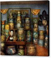 Collector - Hats - The Hat Room Canvas Print by Mike Savad