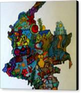 Colombia Canvas Print by MikAn 'sArt
