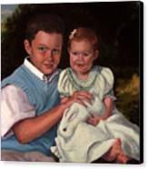 Commissioned Portrait Canvas Print