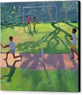 Cricket Sri Lanka Canvas Print by Andrew Macara