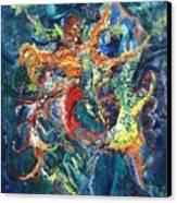 Dancing Butterflies Canvas Print