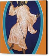Dancing Christ Canvas Print
