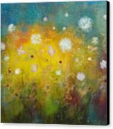 Dancing Wildflowers Series Canvas Print
