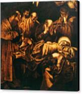 Death Of The Virgin Canvas Print