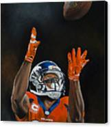 Demaryius Thomas Canvas Print