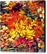 Detail Of Fall Canvas Print