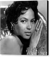 Dorothy Dandridge, Circa 1959 Canvas Print by Everett
