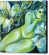 Dreaming Flower Canvas Print