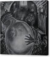 Dying Soul Canvas Print by Kodjo Somana