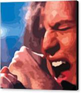 Eddie Vedder Canvas Print by Gordon Dean II