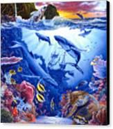 Enchanted Sea Canvas Print