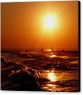 Extreme Blazing Sun Canvas Print