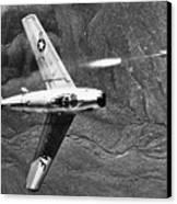 F-86 Jet Fighter Plane Canvas Print by Granger