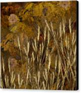 Fall Garden Canvas Print by Jeff Burgess