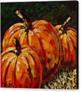 Fall Whisper Canvas Print by Vickie Warner