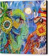 Fancy Dancers Canvas Print